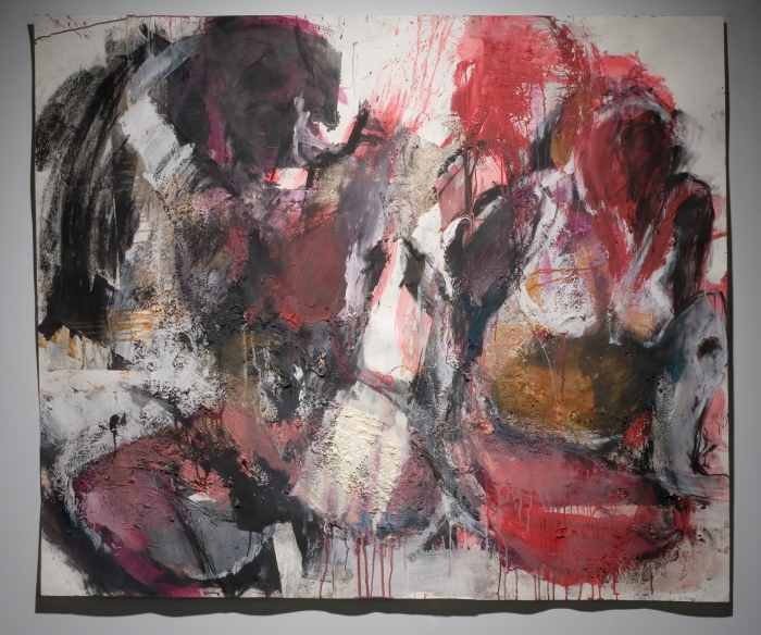 "60x50"", Mixed media on paper, Number 7"